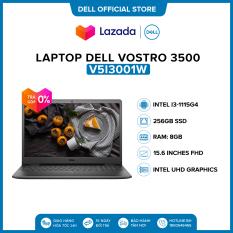 Laptop Dell Vostro 3500 15.6 inches FHD (Intel / i3-1115G4 / 8GB / 256GB SSD / Win 10 Home SL) l Black l V5I3001W l HÀNG CHÍNH HÃNG