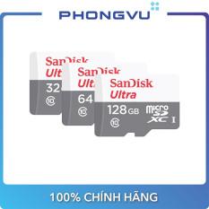 Thẻ nhớ Micro Sandisk Ultra SDSQUNR-GN3MN (32/64/128GB) – Bảo hành 36 tháng