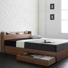 [Trả góp 0%] Giường ngủ gỗ công nghiệp cao cấp Ohaha-073