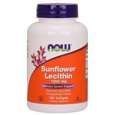 Viên uống chống tắc tia sữa Now Sunflower Lecithin