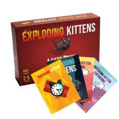 Combo mèo nổ Exploding Kittens + 4 bản mở rộng chất lượng cao