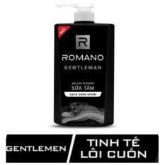 Sữa Tắm Hương Nước Hoa Romano Gentleman 650g