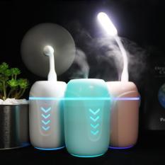 Máy phun sương, máy xông tinh dầu lọc không khí ô tô 3in1