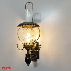 Đèn tường trang trí hình đèn dầu T3225 Có tặng kèm bóng đèn led cao cấp