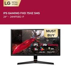 [VOUCHER 200K] Màn hình máy tính LG IPS Gaming FHD (1920×1080) 75Hz 5ms 24 inches l 24MP59G-P l HÀNG CHÍNH HÃNG