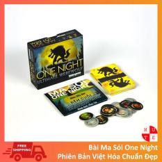 Thẻ bài Ma Sói One Night Việt Hoá Boardgame