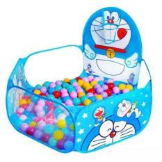 Lều bóng Doraemon kèm 100 quả bóng nhựa cho bé BUHHH252