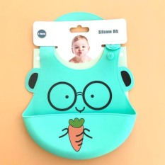 Được chọn mẫu- Yếm máng silicon mềm hình thú cho bé