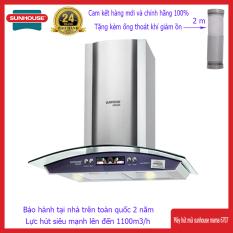 [Nhập ELAPR21 giảm 10% tối đa 200k đơn từ 99k]Máy Hút Mùi Sunhouse Mama 6707-70c 2 mức công suất dễ dàng điều chỉnh 2 đèn LED chiếu sáng giúp nấu ăn thuận tiện