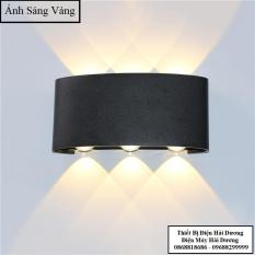Đèn trang trí hắt tường 2 đầu – 6w chống nước TN188 (Đen/Trắng). Sản phẩm chống thấm nước, bền bỉ với thời gian, có thể sử dụng ngoài trời