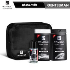 Bộ sản phẩm Gentleman (gồm dầu gội 180g, sữa tắm 180g, lăn khử mùi 40ml)