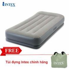 Đệm hơi đơn tự phồng công nghệ mới INTEX 64116 – Nệm hơi, Đệm bơm hơi, Giường bơm hơi