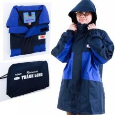 Bộ áo mưa 2 lớp thành long vải dù ấm áp khi trời lạnh, che chở khi trời mưa Màu sắc trang nhã, sạch sẽ- kho gia dụng 194