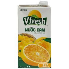 Nước cam ép VFresh Necta hộp 1 lít