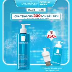 Gel rửa mặt tạo bọt làm sạch dành cho da dầu nhạy cảm La Roche-Posay Effaclar Foaming Gel 400ml