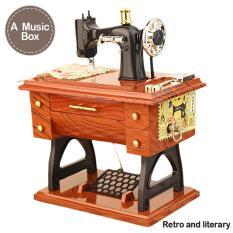 Hơi bạc Máy Phong Cách Âm Nhạc Hộp Mini Handmade Vintage Cổ Điển Retro Sinh Nhật Tặng Đồ Chơi Hộp Nhạc Trang Trí Nhà-quốc tế