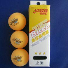 Quả bóng bàn 3 sao dhs thi đấu, sản phẩm tốt với chất lượng, độ bền cao và được cam kết sản phẩm y như hình