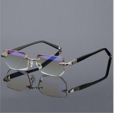 Kính viễn thị lão thị Nhật Bản gọng khoan cao cấp mắt cực sáng và trong chống tia bức xạ chống mỏi mắt và nhức mắt khi đeo lâu quà tặng cho ông bà cực sang và xịn