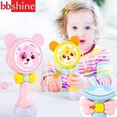 [HCM]Lục lạc cho bé đồ chơi lục lạc cho bé xúc xắc có nhạc và đèn phát sáng hình mặt gấu ngộ nghĩnh BBShine – DC050