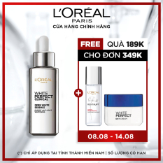 Tinh chất tăng cường dưỡng trắng da & giảm thâm nám L'oreal Paris White Perfect Clinical – 30ml