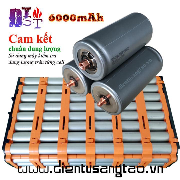 Pin lithium iron phosphate 32650 3.2V 6000mAh đầu vít