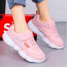 Giày thể thao bé gái dạng lưới, êm chân thoáng mát Phong Cách Hàn Quốc cho bé từ 3 đến 14 tuổi TT2