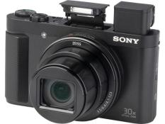 Máy chụp hình Sony Cyber-shot HX90V 18.2MP và zoom quang học 30x (Đen) (Tặng bao da đựng máy + thẻ nhớ 16Gb)