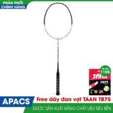 Vợt cầu lông APACS NANO 900 new Đen /đỏ Tặng kèm dây đan vợt +quấn cán vợt