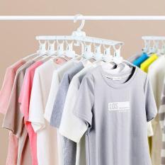 COMBO 2 Móc treo quần áo đa năng gấp gọn thông minh