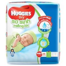 Miếng Lót Sơ Sinh Huggies Newborn 2 60 miếng