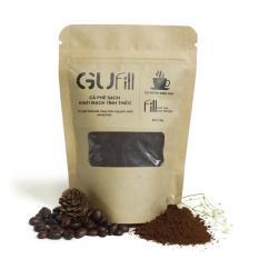 Cà phê nguyên chất GUfill (100g) – 100% Robusta Đăk Lăk rang mộc – Cà phê sạch, Gu mạnh đỉnh cao