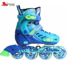 Giày trượt patin cao cấp chính hãng Cougar CR1- Màu Xanh