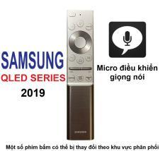 Remote điều khiển tivi SAMSUNG QLED 2019 (Bạc – Micro điều khiển giọng nói)