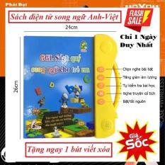Sách Điện Tử Thông Minh Cho Bé Sách Song Ngữ Cho Bé học tiếng anh SÁCH ĐIỆN TỬ SONG NGỮ ANH – VIỆT