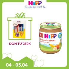[FREESHIP] Dinh dưỡng đóng lọ chuối mơ HiPP Organic 125g