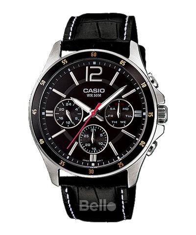 Đồng hồ Casio Nam MTP-1374L-1A chính hãng giá rẻ – Bảo hành 1 năm – Pin trọn đời