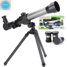 Kính thiên văn C2105, kính thiên văn loại nhỏ, kính khúc xạ, phù hợp làm qua tặng hoặc cho bé yêu khám phá