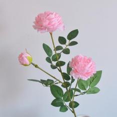 Hoa Giả – Hoa Hồng Cao Cấp 1 Cành 3 Bông Lớn 2226