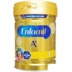 Sữa bột Enfamil A+ 1 DHA+ MFGM Pro lon 870G (trẻ 0-6 tháng)