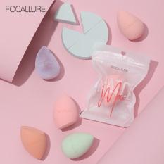 FOCALLURE MakeUp Puff Sponge Beauty Blender Soft Blending Makeup Tools (Gound/Droplet)