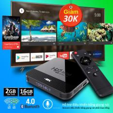 Box tivi android, tivi box, tv box xem phim 4k, bộ nhớ 16G, ram 2G, android 10.0 mới nhất, tặng tài khoản k+ trải nghiệm miễn phí xem nhiều kênh truyền hình trong nước, bảo hành 12 tháng T95H
