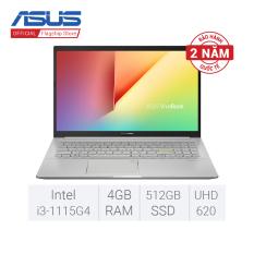 [27/3 TẶNG OFFICE 365 BẢN QUYỀN]Laptop ASUS VivoBook 15 A515EA-BQ489T i3-1115G4 4GB DDR4 512GB SSD Intel® UHD Graphics 15.6 inch FHD Windows 10