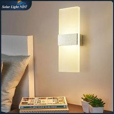 Đèn Gắn Tường Phòng Ngủ, Phòng Khách, Cầu Thang LED Decor Hình Khối Chữ Nhật