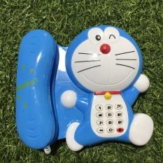 [HCM]Đồ chơi Điện thoại bàn Doreamon dễ thương cho bé – sử dụng Pin có phát nhạc – Smart Baby