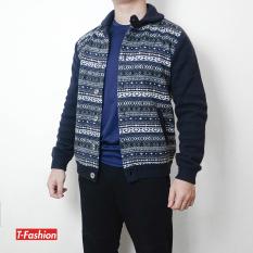 Áo len thổ cẩm, Áo len hoạt tiết, áo khoác len chất dày dặn dành cho Nam, Hàng xuất khẩu chất len cực đẹp