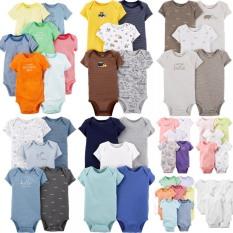 Set 10 bodysuit tay ngắn cho bé trai và gái