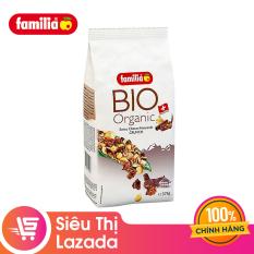 [Siêu thị Lazada] Ngũ cốc sạch hỗn hợp vị sô cô la Organic Choco – Amaranth Crunch hiệu Familia 375g – sản phẩm hữu cơ tốt cho sức khỏe phù hợp với mọi lứa tuổi