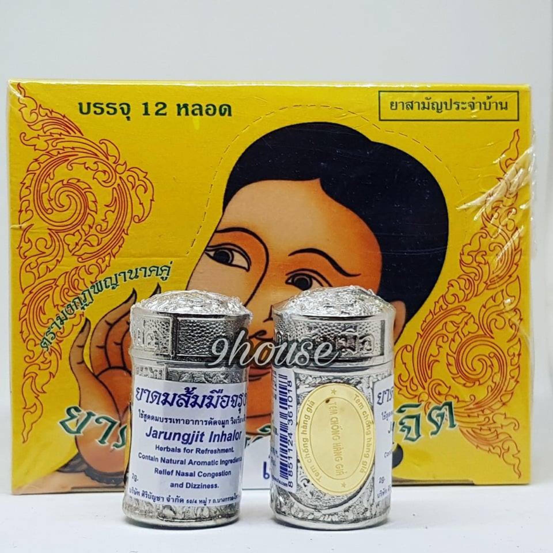 Bảng Giá 2 Ống hít xoang thảo dược cung đình Thái Lan (Có tem chống giả)