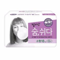 Băng vệ sinh có cánh Kleannara Lilian Soomshida Hàn Quốc ( 18 miếng x 23 Cm) – Hàng Chính Hãng