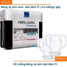 Băng vệ sinh nam ABRI-MAN F1 (14 miếng/gói) + Tặng 02 miếng băng vệ sinh cùng loại